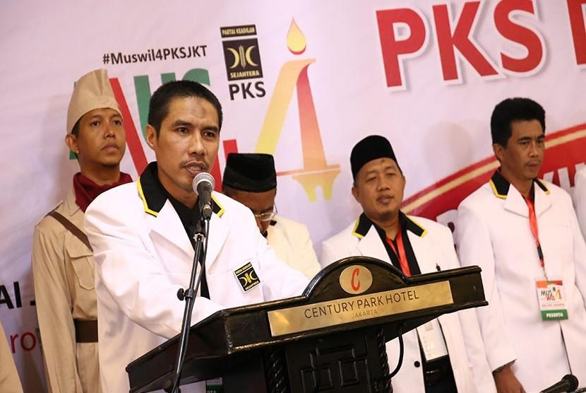 Ketua DPW PKS DKI, Syakir Purnomo.