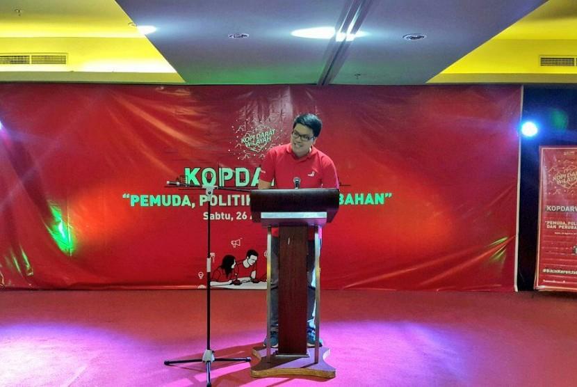 Ketua DPW PSI DKI Jakarta, Michael V Sianipar.