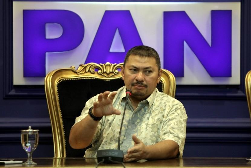 Ketua Fraksi PAN DPR RI Mulfachri Harahap.