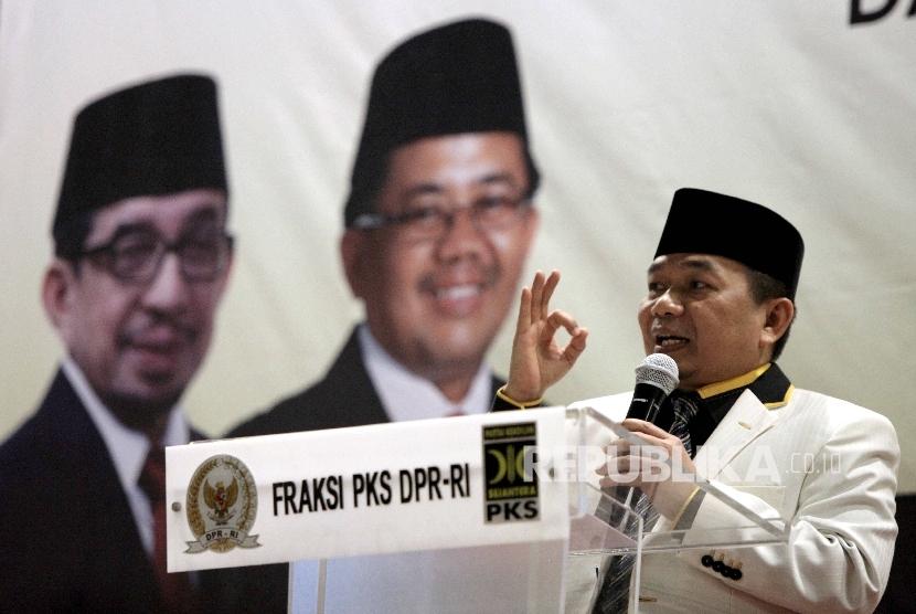 Ketua Fraksi Partai Keadilan Sejahtera (PKS) DPR Jazuli Juwaini.