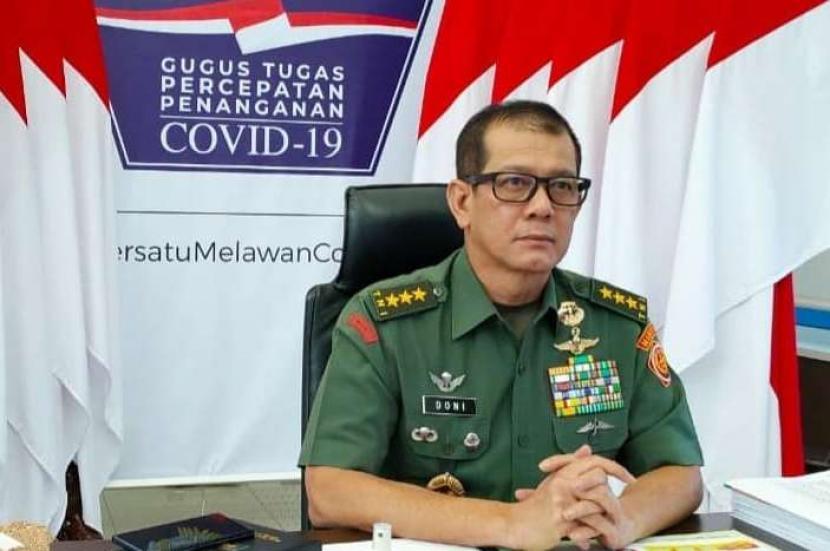 Ketua Gugus Tugas Percepatan Penanganan Covid-19, Letjen Doni Monardo.