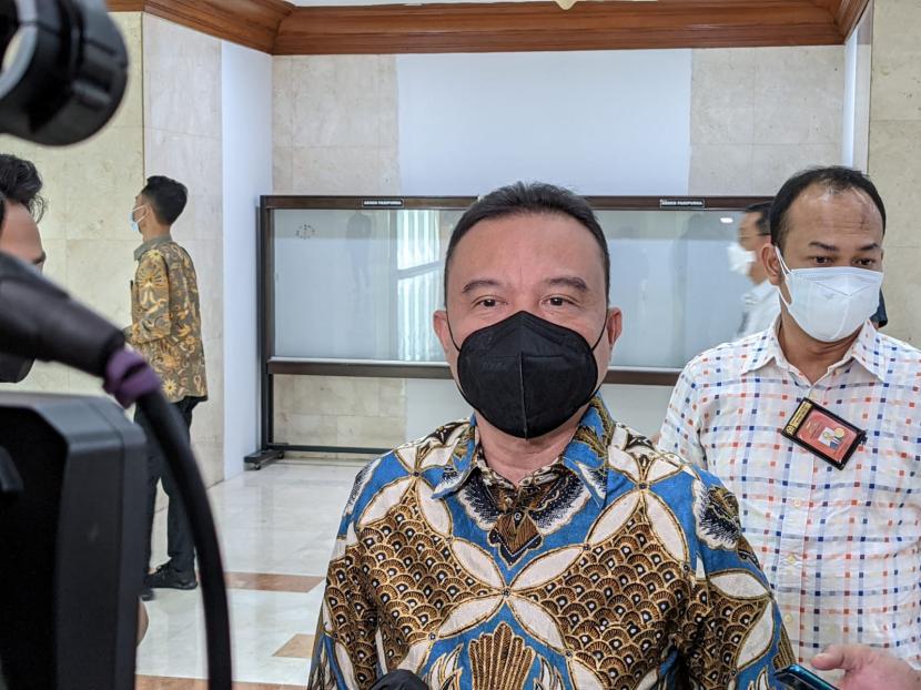 Ketua Harian DPP Partai Gerindra yang juga Wakil Ketua DPR Sufmi Dasco Ahmad