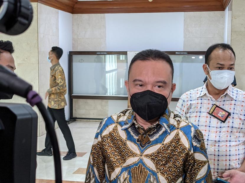 Ketua Harian DPP Partai Gerindra yang juga Wakil Ketua DPR Sufmi Dasco Ahmad.