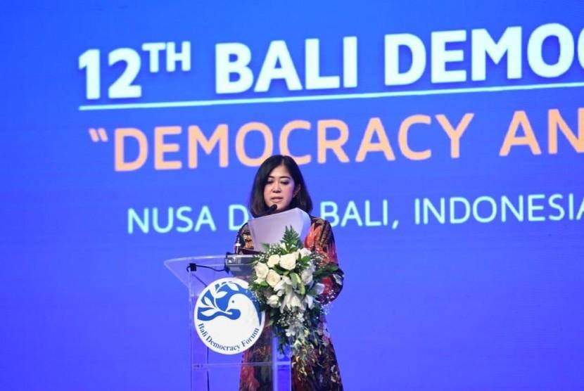 Ketua Komisi I Dewan Perwakilan Rakyat (DPR) RI Meutya Hafid