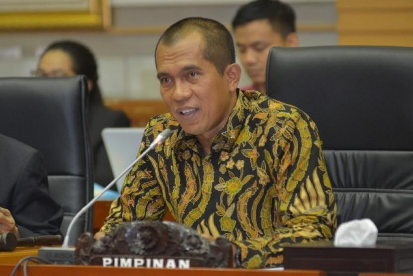 Ketua Komisi I Dewan Perwakilan Rakyat Republik Indonesia (DPR RI) Abdul Kharis Almasyhari