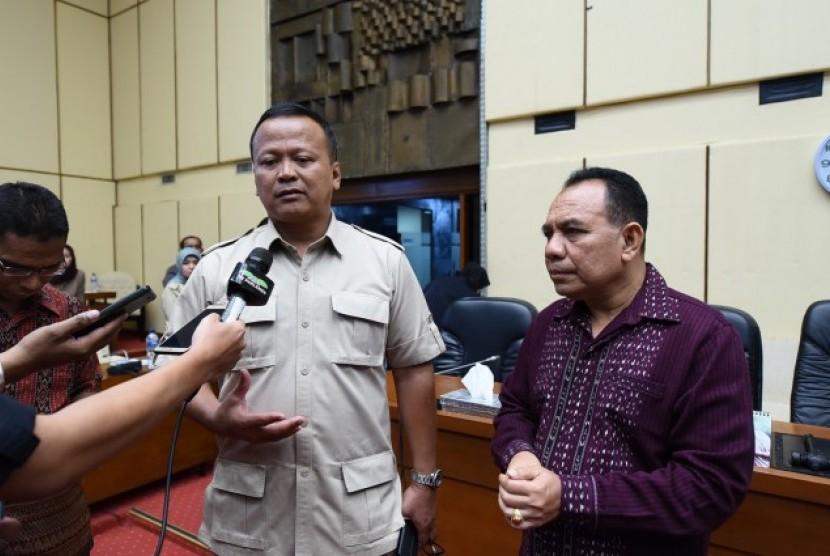 Ketua Komisi IV Dewan Perwakilan Rakyat Republik Indonesia (DPR RI) Edy Prabowo.