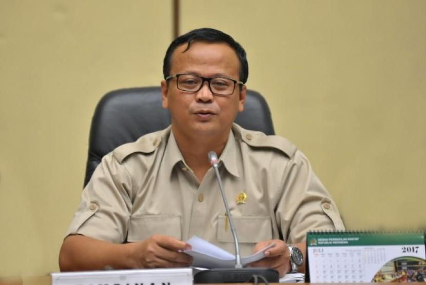 Ketua Komisi IV DPR RI Edhy Prabowo