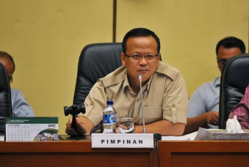 Wakil Ketua Umum Gerindra Edhy Prabowo.