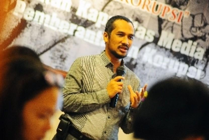 Ketua Komisi Pemberantasan Korupsi (KPK), Abraham Samad.