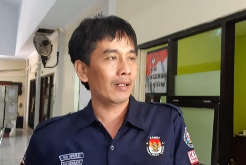 Ketua Komisi Pemilihan Umum (KPU) Kota Surabaya Nur Syamsi