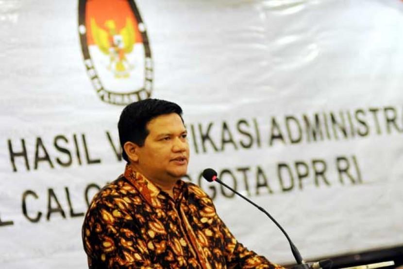 Ketua Komisi Pemilihan Umum (KPU) Pusat Husni Kamil Manik