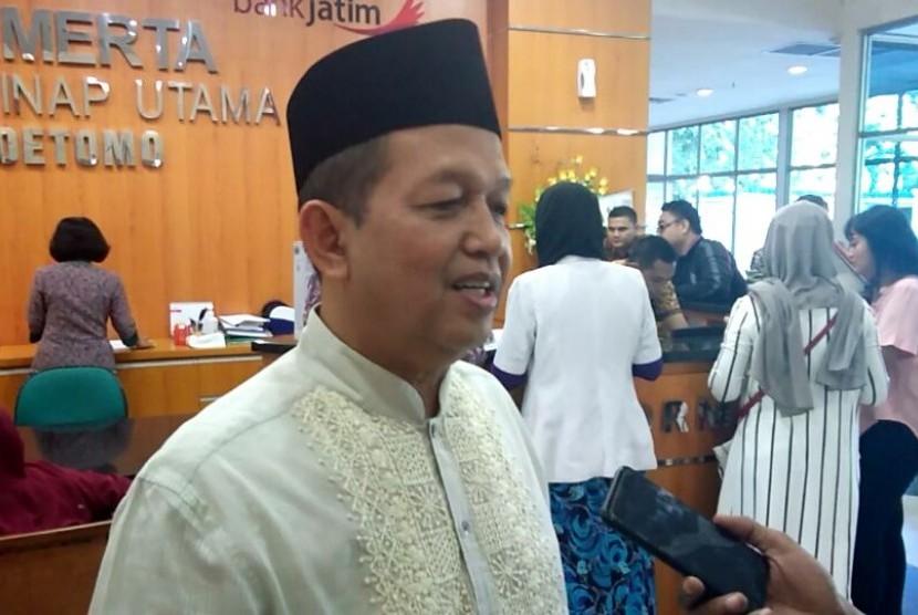 Ketua Komite Ekonomi dan Industri Nasional Soetrisno Bachir.