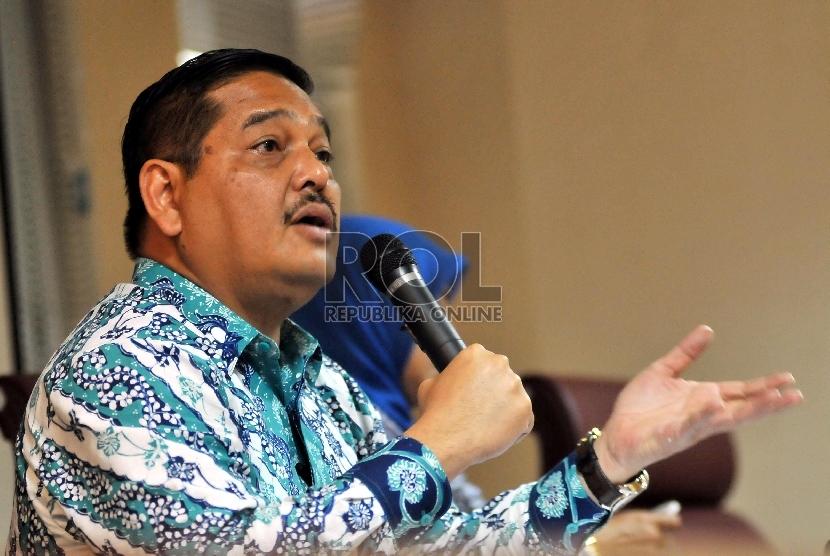 Ketua Komite II DPD RI Parlindungan Purba.