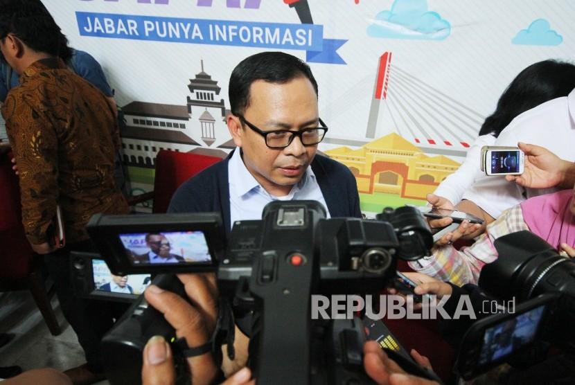 Ketua KPU Jawa Barat Rifqi Ali Mubarok