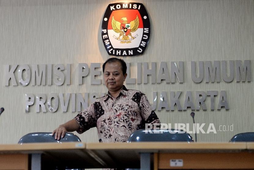 Ketua KPUD DKI Jakarta Sumarno.