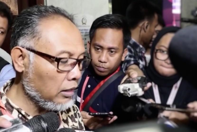 Ketua Kuasa Hukum Pasangan Prabowo Subianto-Sandiaga Uno, Bambang Widjojanto