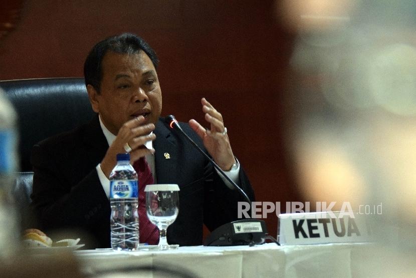 Ketua Mahkamah Konstitusi (MK) Arief Hidayat