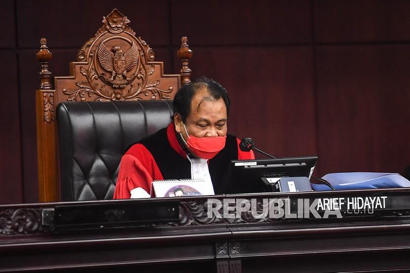 Hakim Mahkamah Konstitusi (MK) Arief Hidayat