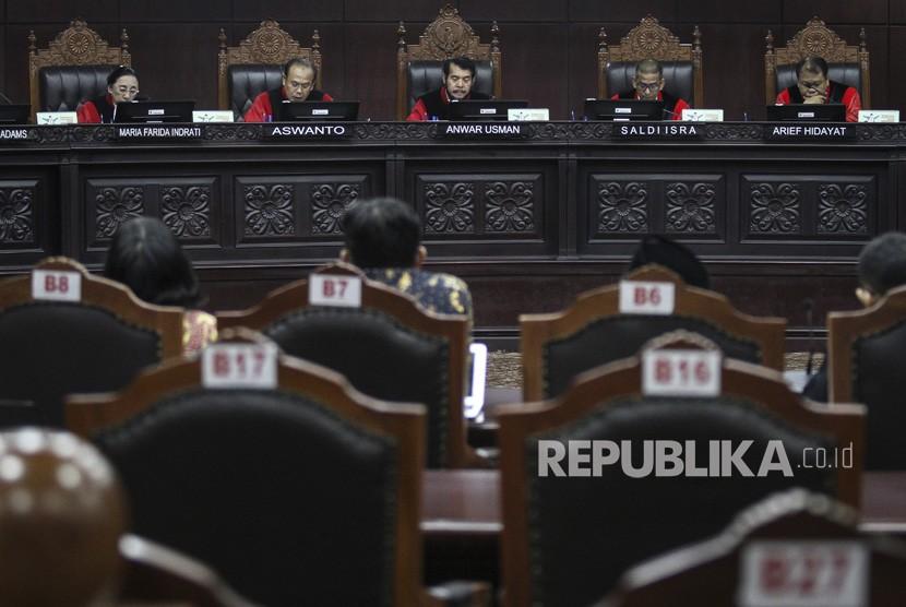 Ilustrasi sidang Mahkamah Konstitusi (MK)