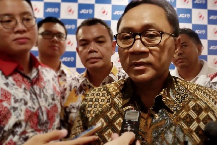 Ketua Majelis Permusyawaratan Rakyat Zulkifli Hasan