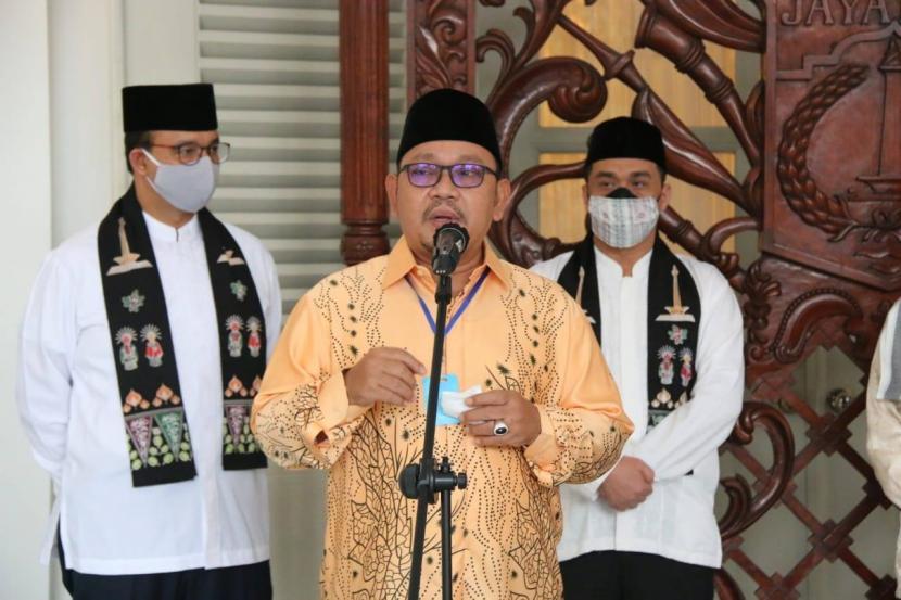 Ketua Majelis Ulama Indonesia (MUI) Provinsi DKI Jakarta, KH Munahar Muchtar HS.