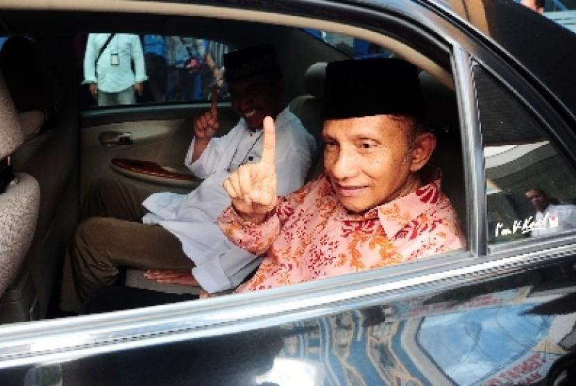 Ketua MPP Partai Amanat Nasional (PAN) Amien Rais.