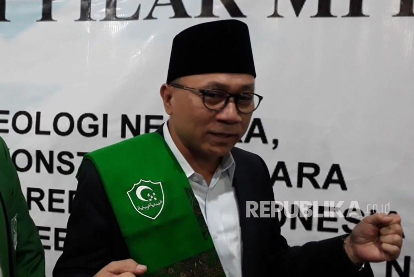 Ketua MPR Zulkifli Hasan.