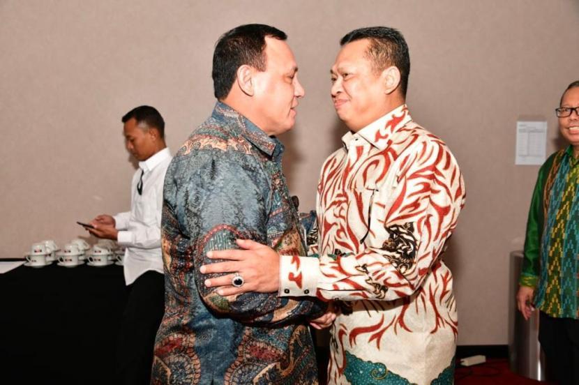Ketua MPR RI Bambang Soesatyo mengungkapkan MPR RI akan bekerjasama dengan Komisi Pemberantasan Korupsi (KPK) untuk mensosialisasikan Empat Pilar MPR RI