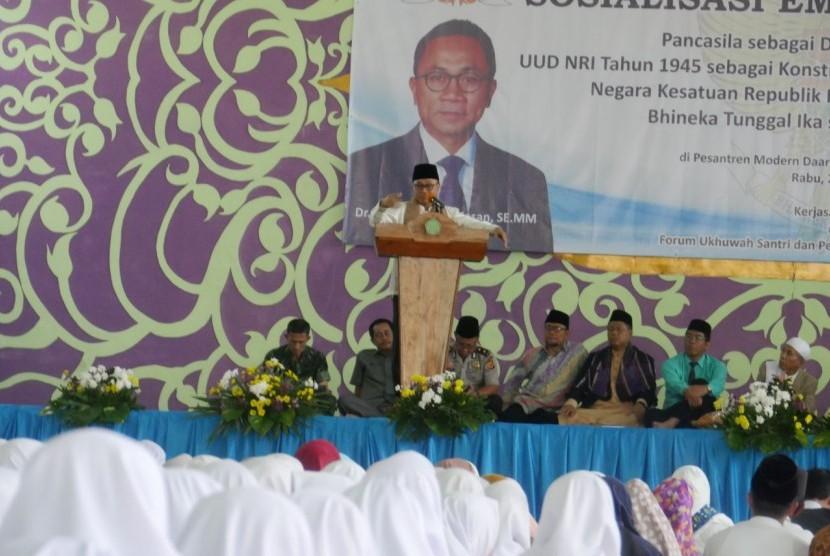 People's Consultative Assembly speaker Zulkifli Hasan