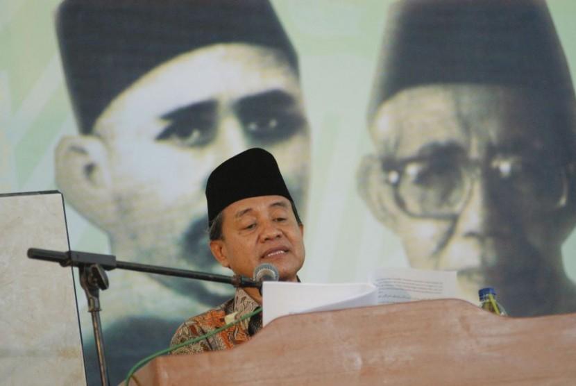 Ketua MUI bidang Kajian, KH Maman Abdurrahman.