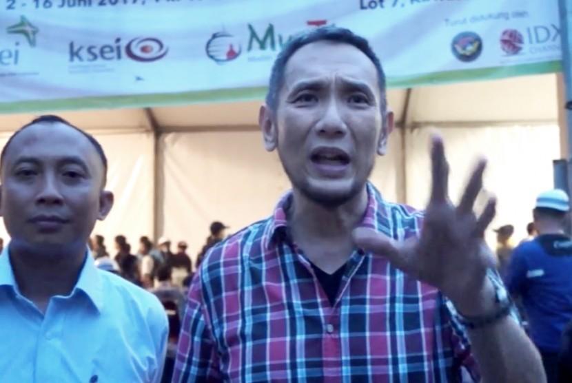 Pengusaha sekaligus Ketua Muslim Tinghoa, Jusuf Hamka.