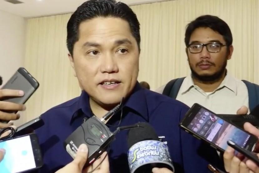 Indonesian Asian Games Organizing Committee (INASGOC) Chief Erick Thohir