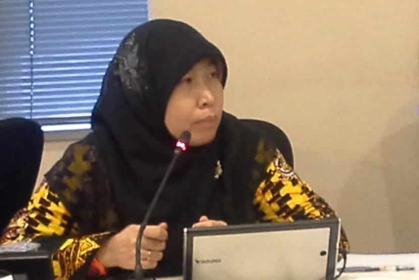Ketua Perhimpunan Masyarakat Tolak Pornografi (MTP),  Azimah  Subagijo.