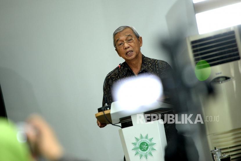 Ketua Pimpinan Pusat Muhammadiyah Busyro Muqoddas.