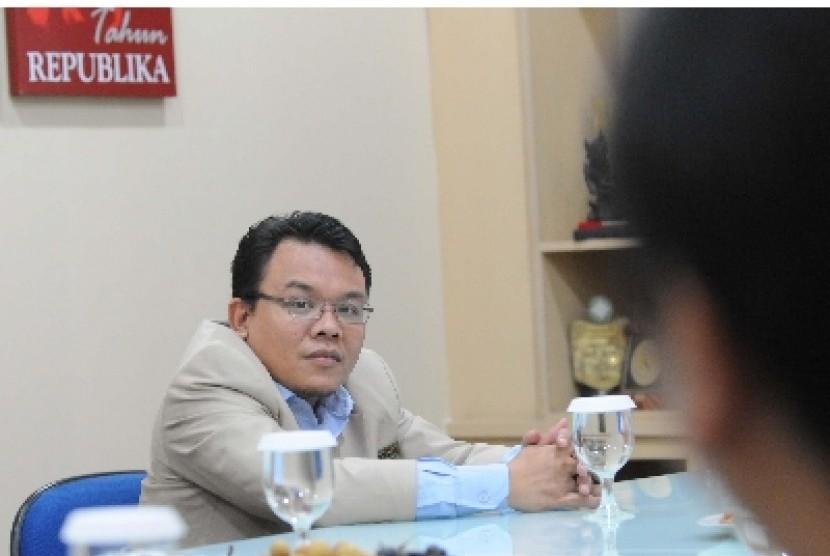 Ketua PP Pemuda Muhammadiyah, Saleh Partaonan Daulay