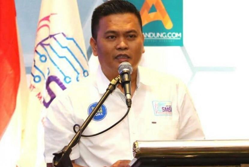 Ketua PWI Pokja Kota Bandung Hardiyansyah.