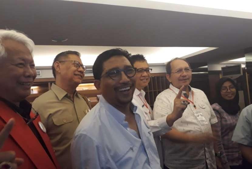 Ketua Tim Kampanye Daerah (TKD) Jawa Timur untuk Joko Widodo-Maruf Amin, Machfud Arifin.