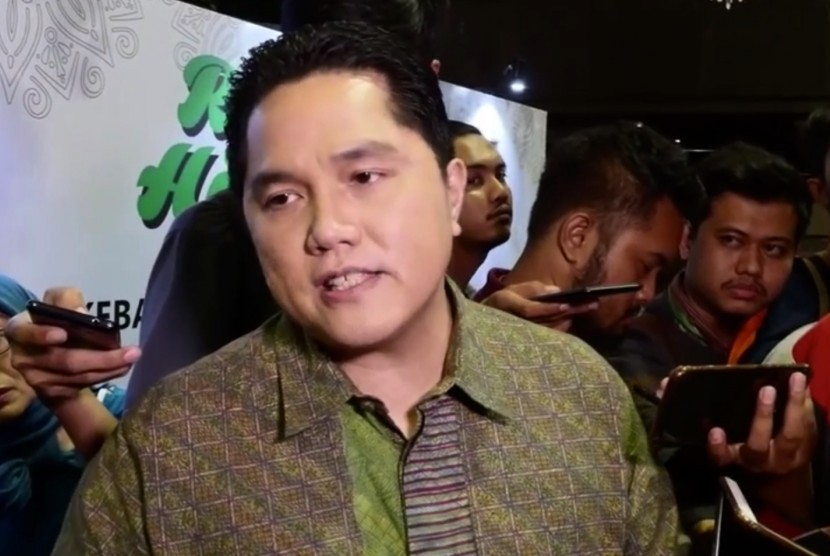 Ketua Tim Kampanye Nasional (TKN) Erick Thohir