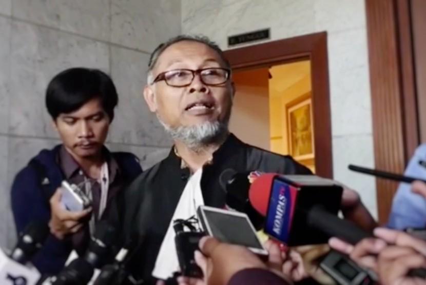 Ketua Tim Kuasa Hukum Paslon 02, Bambang Widjajanto