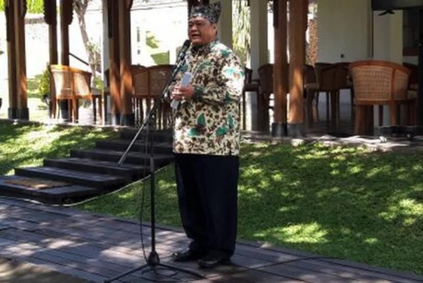 Ketua Tim Kunjungan Spesifik Bidang Pariwisata Komisi X DPR RI, Ridwan Hisjam.