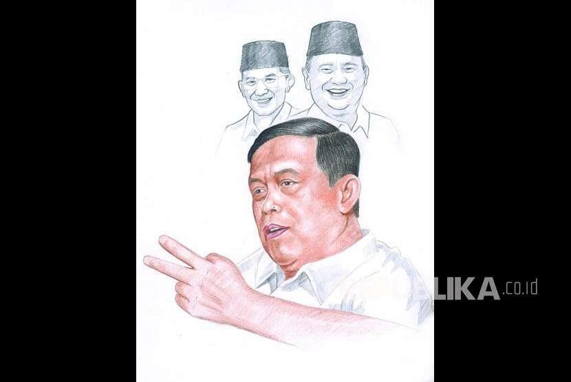 Ketua tim Badan Pemenangan Nasional (BPN) Prabowo-Sandiaga Djoko Santoso