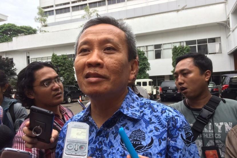Ketua JPU kasus dugaan penistaan agama dengan tersangka Basuki 'Ahok' Tjahaja Purnama, Ali Mukartono.