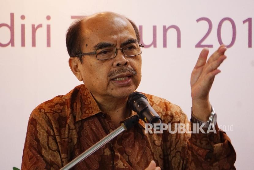 Ketua Umum Badan Amil Zakat Nasional (BAZNAS), Bambang Sudibyo