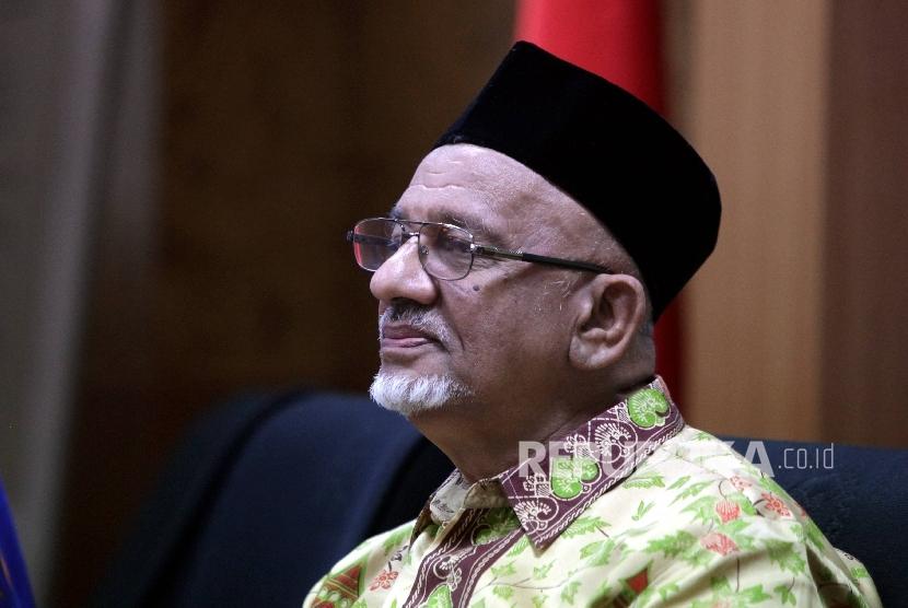 Ketua Umum Dewan Dakwah Islamiyah Indonesia (DDII), Muhammad Siddiq.