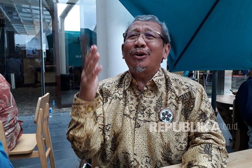 Ketua Umum Dewan Kopi Indonesia (Dekopi) Anton Apriantono menjelaskan harapan Dekopi untuk petani kopi di Indonesia