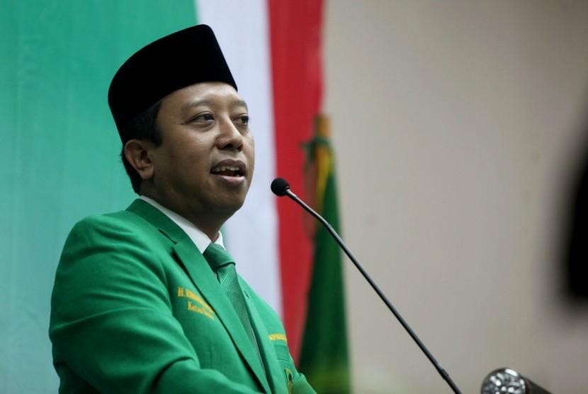 Ketua Umum Partai Persatuan Pembangunan (PPP) Romahurmuzy.