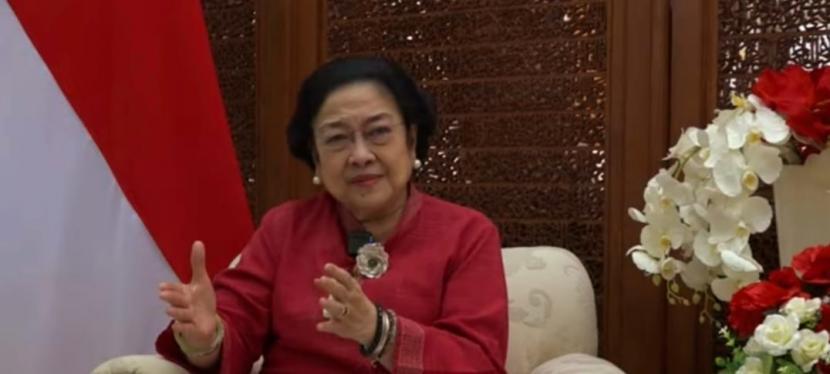 Ketua Umum DPP PDI Perjuangan (PDIP) Megawati Soekarnoputri
