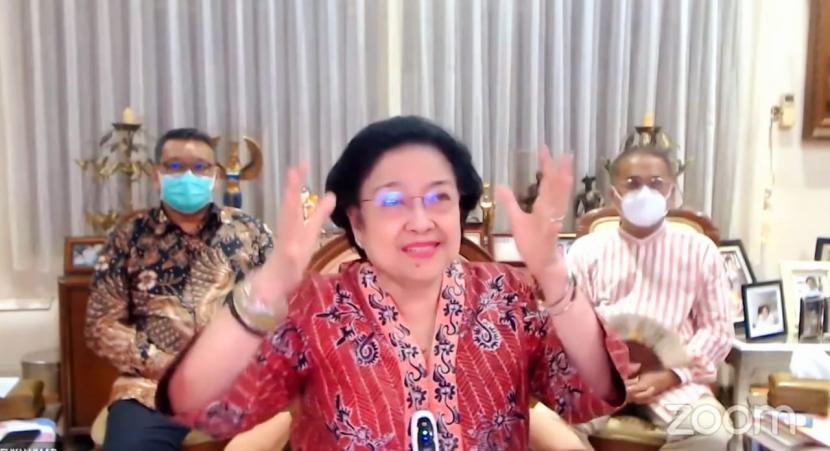 Ketua Umum DPP PDI Perjuangan (PDIP) Megawati Soekarnoputri.