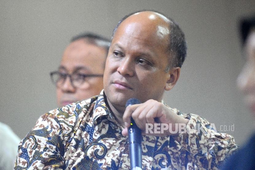 Ketua Umum Ikatan Saudagar Muslim Se-Indonesia (ISMI) Ilham Akbar Habibie