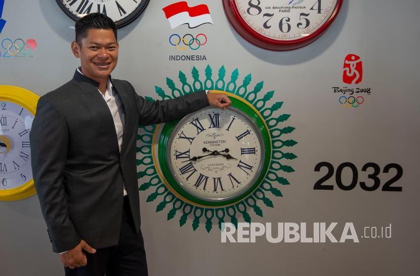 Ketua Umum Komite Olimpiade Indonesia (KOI) Raja Sapta Oktohari.